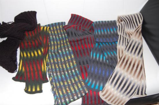 série d'écharpes