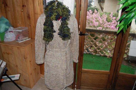 manteau et echarpe